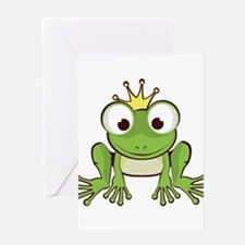 Frog Prince Greeting Cards