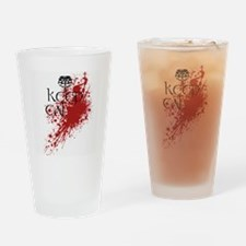 Cute Violent Drinking Glass