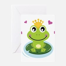 Frog Princess Greeting Cards