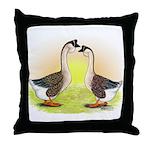 African Geese2 Throw Pillow