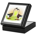 African Geese2 Keepsake Box