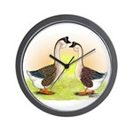 African Geese2 Wall Clock