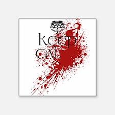 """Keep Calm"" they said... Sticker"