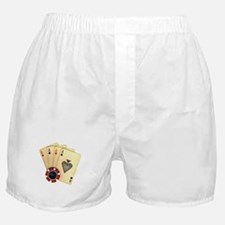 Poker - 4 Aces Boxer Shorts