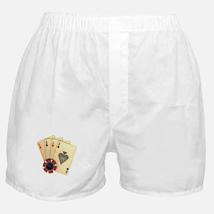 Poker - 4 Aces Boxer Shorts