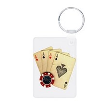 Poker - 4 Aces Keychains