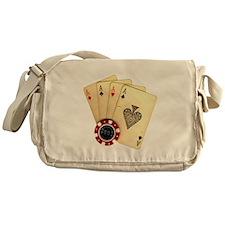 Poker - 4 Aces Messenger Bag