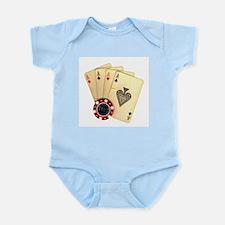 Poker - 4 Aces Body Suit