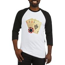 Poker - 4 Aces Baseball Jersey