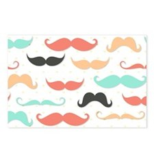 Mustache Postcards (Package of 8)
