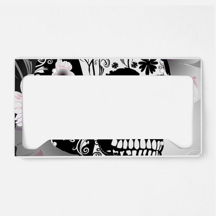 Skull License Plate Frames - Proga | Info