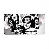 Sugar skull License Plates