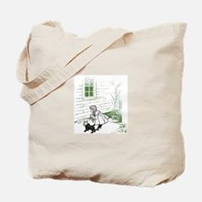 Vintage Wizard of Oz Wicked Witch is Dead Tote Bag
