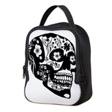 Skull Neoprene Lunch Bag