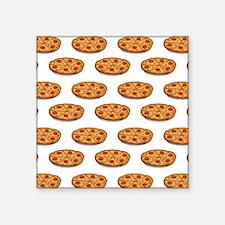 Pepperoni Pizza Pattern; Italian Food Sticker
