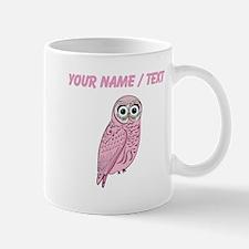 Custom Pink Owl Mugs