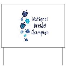 National Dreidel Champion Yard Sign