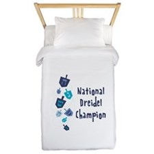 National Dreidel Champion Twin Duvet