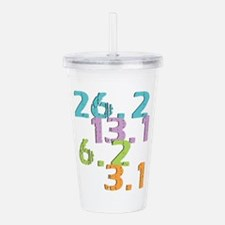 runner distances Acrylic Double-wall Tumbler