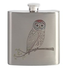 White Owl Flask