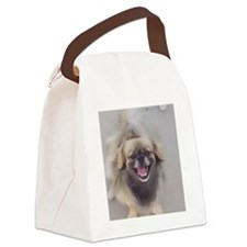 Crickett watercolor Canvas Lunch Bag