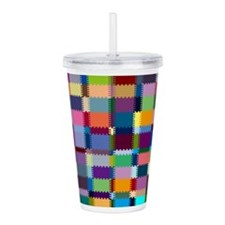 Patches Acrylic Double-Wall Tumbler
