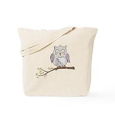 Sleeping Owl Tote Bag