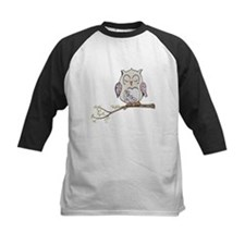 Sleeping Owl Baseball Jersey