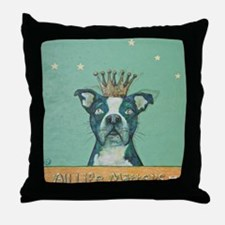 All Life Matters, Pit Bull Throw Pillow