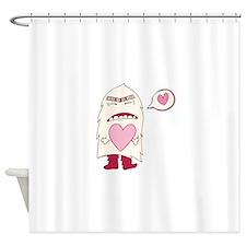 Love Monster Shower Curtain