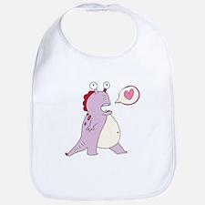 Love Dinosaur Bib
