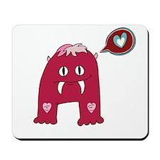 Love Fang Monster Mousepad