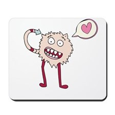 Fuzzy Monster Mousepad
