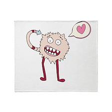 Fuzzy Monster Throw Blanket