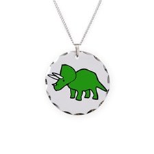 Cute Triceratops Necklace