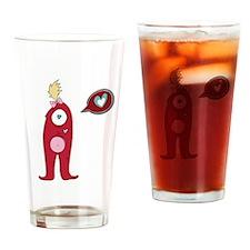 Love Cyclops Drinking Glass