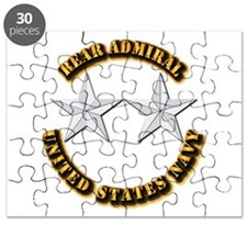 Navy - Rear Admiral - O-8- w Text Puzzle