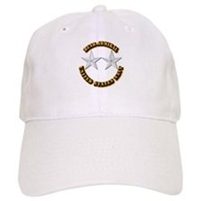 Navy - Rear Admiral - O-8- w Text Baseball Cap