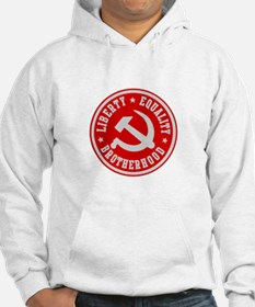 LIBERTY EQUALITY BROTHERHOOD Hoodie Sweatshirt