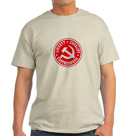 LIBERTY EQUALITY BROTHERHOOD Light T-Shirt