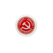 LIBERTY EQUALITY BROTHERHOOD Mini Button