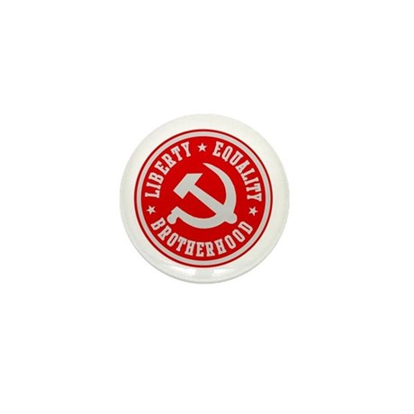 LIBERTY EQUALITY BROTHERHOOD Mini Button (10 pack)