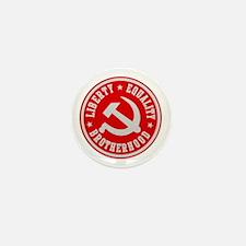 LIBERTY EQUALITY BROTHERHOOD Mini Button (10 pack)