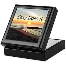 EASY DOES IT Keepsake Box