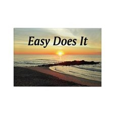 EASY DOES IT Rectangle Magnet (10 pack)