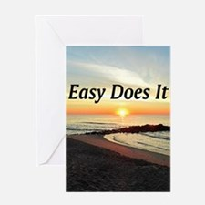 EASY DOES IT Greeting Card