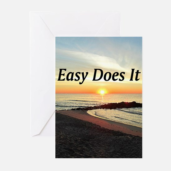 EASY DOES IT Greeting Cards (Pk of 20)