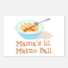 Mama's Lil Matzo Ball Postcards (Package of 8)