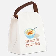 Mama's Lil Matzo Ball Canvas Lunch Bag