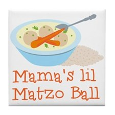 Mama's Lil Matzo Ball Tile Coaster